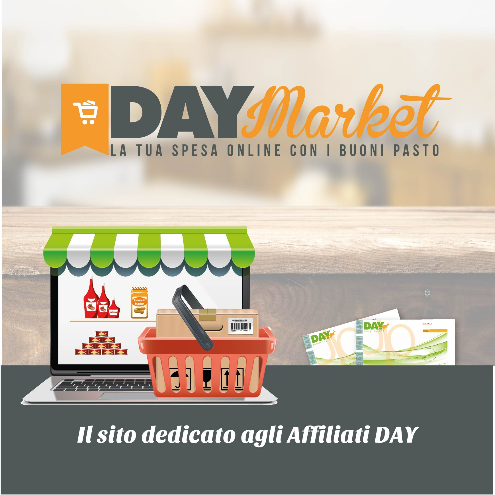 Day Market, e-commerce per esercizi affiliati
